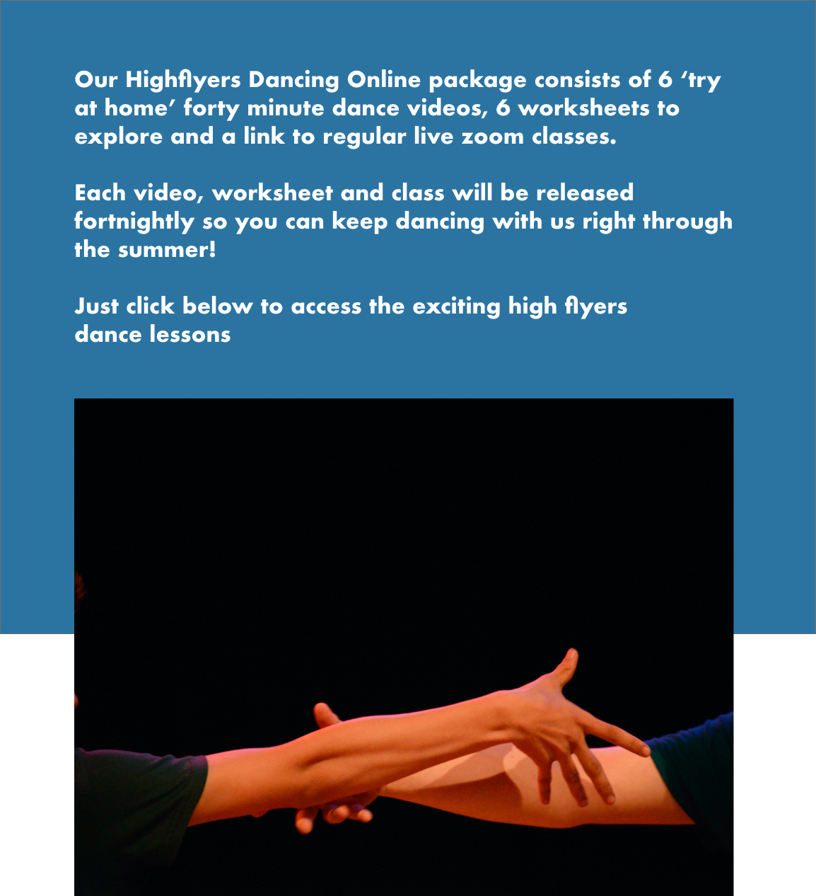 Highflyers Front Page - Section 2